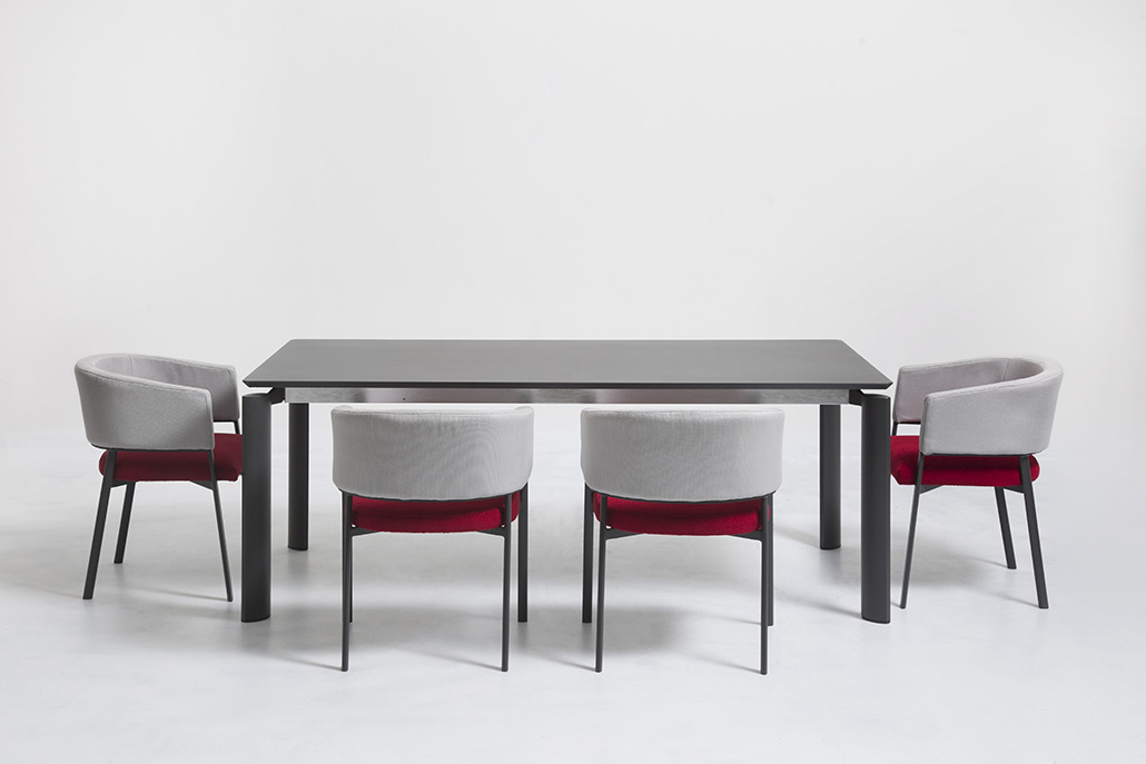 Milo - tavolo pranzo + Eden - pozzetto - 01