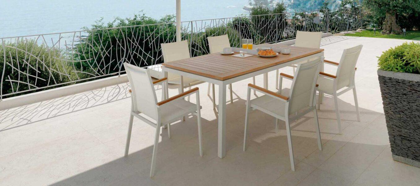 Timber Tavolo da pranzo estendibile 156/214 0