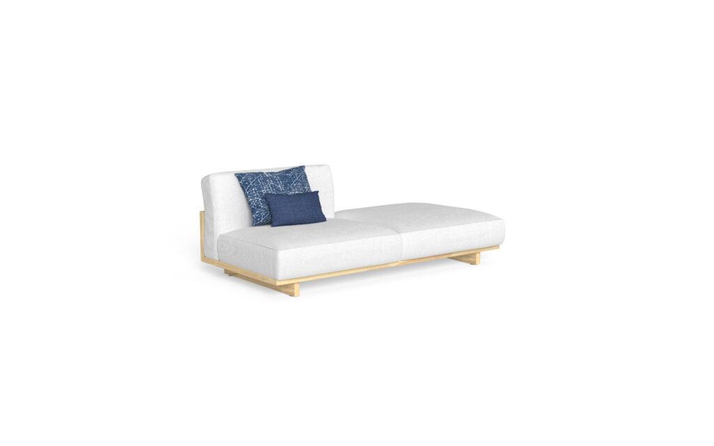 sofa + pouf sx