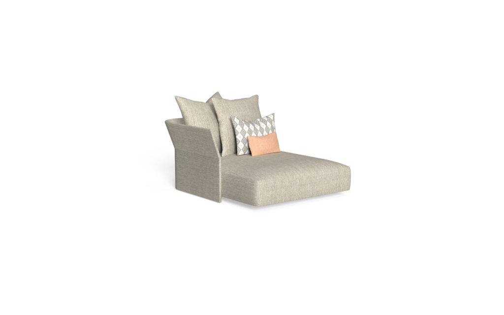 sofa lounge xl dx backrest fabric
